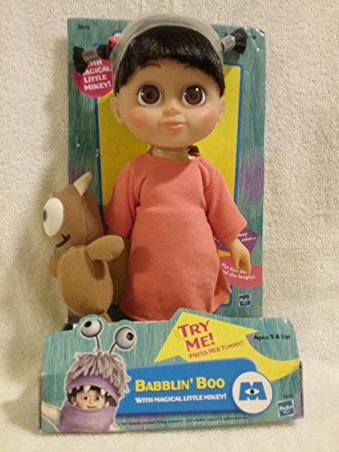 Babblin' Boo with Magical Little Mikey (Little Mikey Doll Monsters Inc compare prices)