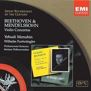 Beethoven - Mendelssohn : Concertos pour violon