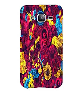 SAMSUNG GALAXY J2 FLOWERS Back Cover by PRINTSWAG