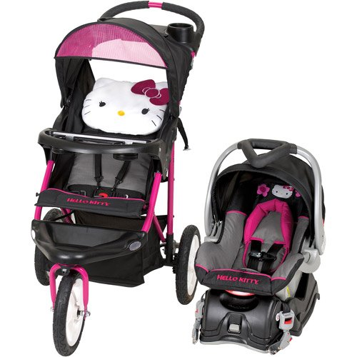 Hello Kitty Jogging Stroller Carseat Combo Girls Travel