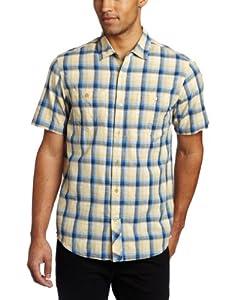 Horny Toad Men's Smythy Shirt, Bright Navy, Medium