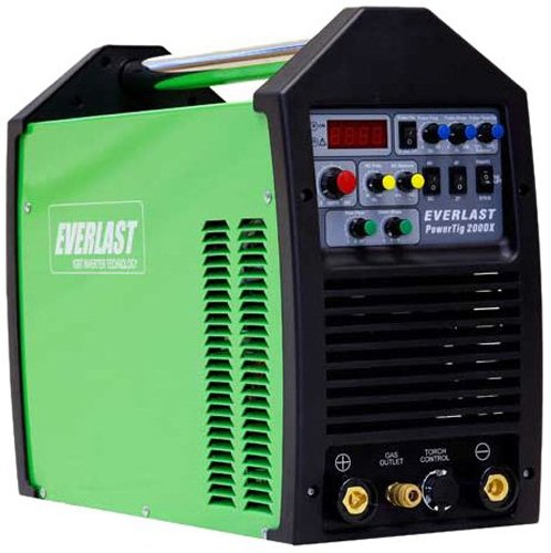 Everlast PowerTig 200DX AC DC TIG Stick Pulse Welder 220/240 Volt Inverter