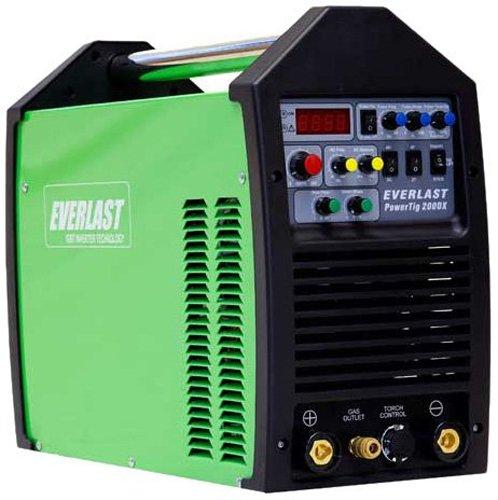 Everlast PowerTig 200DX AC DC TIG Stick Pulse Welder 220/240 Volt Inverter (Everlast Water Cooler compare prices)