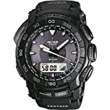 Casio Pro Trek Digital Watch for Him Altimeter, Barometer, Thermometer, Compass by Casio