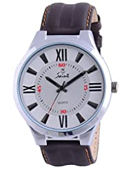 Saint Analogue White Dial Men's Watch (A005)