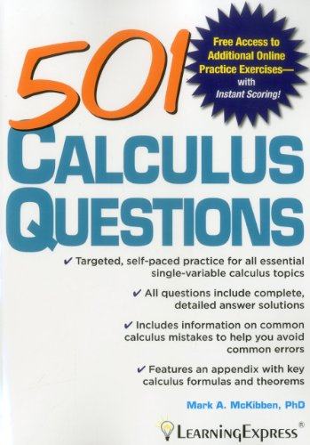 501 Calculus Questions (501 Series)