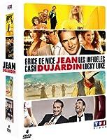 Jean Dujardin - Coffret - Les infidèles + Cash + Lucky Luke + Brice de Nice
