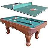 Harvil 75in Billiard Table with Table Tennis Conversion Top