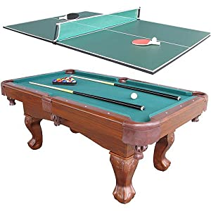 Harvil 75in billiard table with table tennis conversion top pool tables sports - Pool table table tennis ...