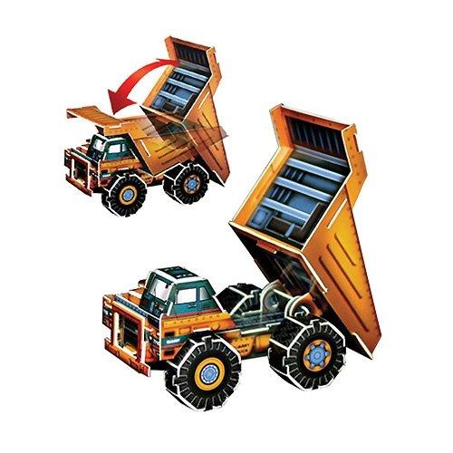 Jigsaw 3D Puzzle Transportation Series - Dump Truck