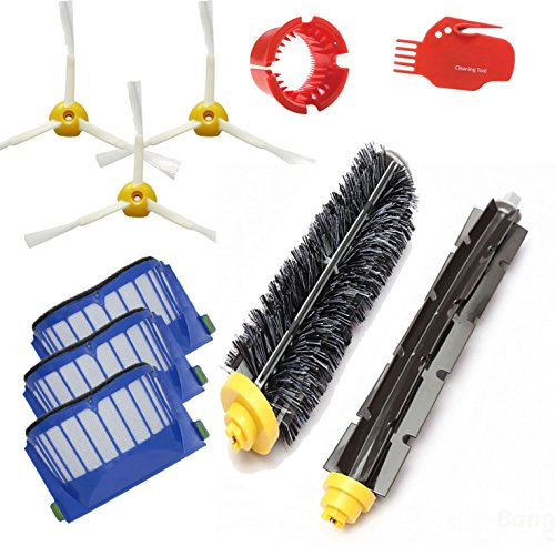 Brand New Part For Irobot Roomba 650 Vacuum Cleaner, Kit Includes Includes 3 Pack Filter, Side Brush, And 1 Pack Bristle Brush And Flexible Beater Brush, Cleaning Tool