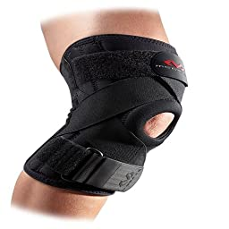 McDavid 425 Ligament Knee Support (Black, XX-Large)