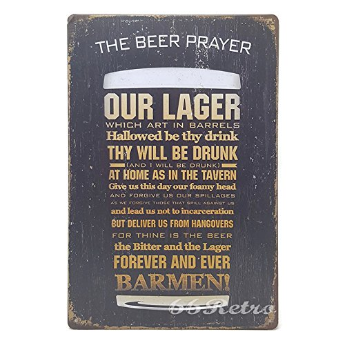 66retro-the-beer-player-vintage-retro-metal-tin-sign-wall-decorative-sign-20cm-x-30cm