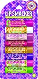 Lip Smacker Vintage Flavors Party Pack Lip Glosses, 8 Count
