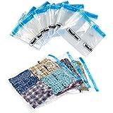 VonHaus 6 X Pack Vacuum Bag Storage Saving Space Clothes Bags Compressed: 85 x 50cm