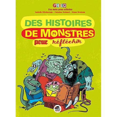 """Parution de mon petit livre """"Des monstres pour réfléchir"""" 51kjSVkEmvL._SS500_"""