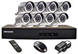 HIKVISION 8CH- DS-7208HGHI-E1-Turbo-HD-720P-DVR + HIKVISION DS-2CE16COT-IR TURBO BULLET CAMERA 8pcs KIT