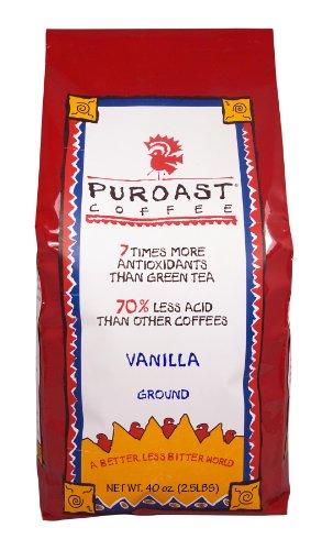 Puroast peu acides café à la vanille Café Drip