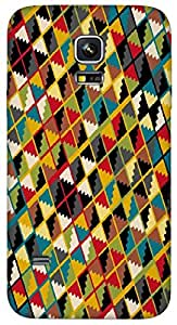 Timpax protective Armor Hard Bumper Back Case Cover. Multicolor printed on 3 Dimensional case with latest & finest graphic design art. Compatible with Samsung Galaxy S-5-Mini Design No : TDZ-21944
