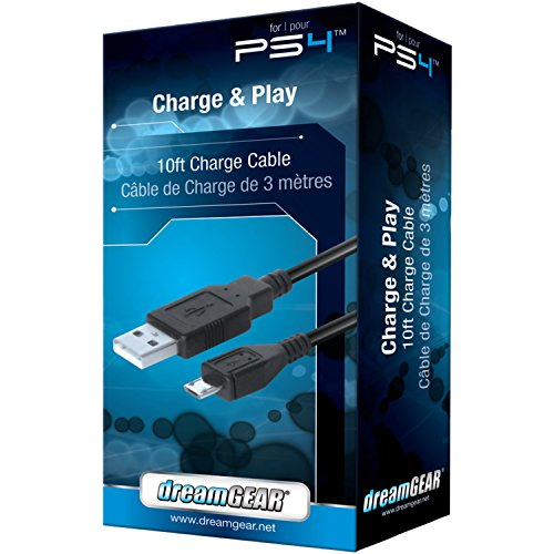 dreamGEAR-Playstation-4-Charge-and-Play-Premium-Connection-Cable-Perfect-for-Charging-DualShock4-Controllers