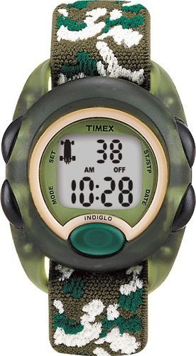 Timex Kids' T71912 Camouflage Digital Stretch Band Watch
