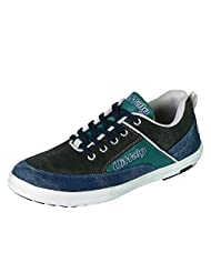 Vittaly Blue Casual Suede Sneakers For Men