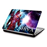 "CLUBLAPTOP Lord Shiva Abstract Art CLS-231 Laptop Skin For 15. Inch Laptops For 15.6"" Laptops"
