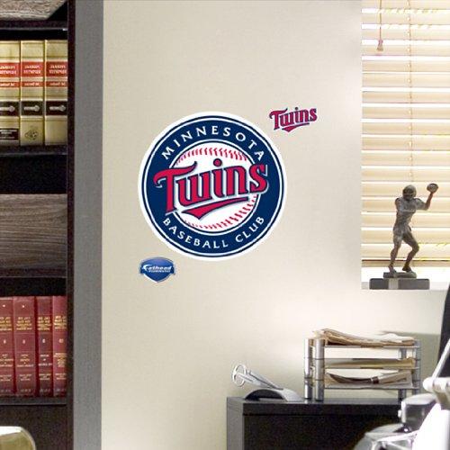 Mlb Minnesota Twins Fathead Logo Decal front-884537