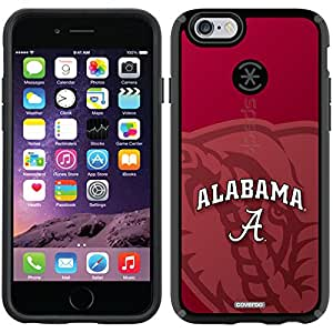 Coveroo CandyShell Case for iPhone 6 - Retail Packaging - Black/Alabama Watermark Design
