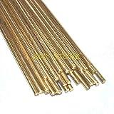 Kamas 10pcs Brass Rods Wires Sticks Electrode 1.0/1.2/1.5/1.6/1.8/2.0/2.2/2.5/3.0mm x 250mm Gold Repair Welding Brazing Soldering Rod - (Diameter: 3.0mm) (Color: 3.0mm)