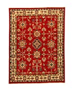 Design Community By Loomier Alfombra Ozbeki Ghazni Gold (Rojo/Multicolor)