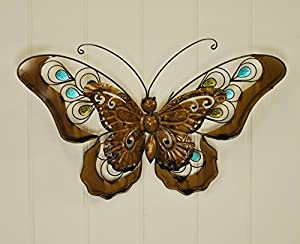 Butterfly Metal Garden Wall Art from Smart Garden