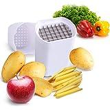 Potato Chipper iCooker Potato Veggie chopper - Best for French Fries & Apple Slices - Potato Chips Waffle Maker