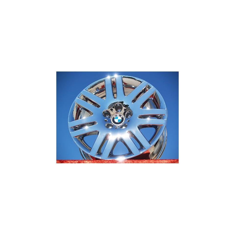 BMW 7 seriesStyle 93 Set of 4 genuine factory 18inch chrome wheels