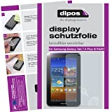 Dipos Crystalclear Displayschutzfolie fr Samsung Galaxy Tab 7.0 Plus N P6201von &#34;dipos&#34;