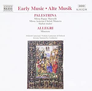 Early Music - Palestrina: Choral Works / Oxford Camerata