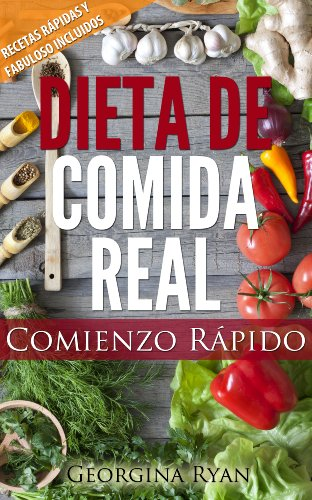 Portada del libro Dieta de comida real de Georgina Ryan
