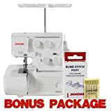 Janome 8002D Serger w/ FREE Bonus Value Package!