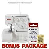 Janome 8002D Serger w/ FREE Bonus Value Package!