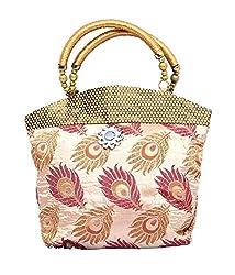 Kuber Industries Womens Handbag(Beige,Fhb101)