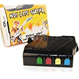 NINTENDO® DS Lite - NDS Lite Guitar Controller Attachment for Guitar Hero with built in Hand Held Grip Strap and GBA Slot Adapter - This Accessory is Suitable for ALL Guitar Hero Games for Nintendo DS Lite (aka NDSL / NDS Lite / DS Lite / etc.)