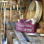 Burgon & Ball Shed Caddy, Burgundy Red