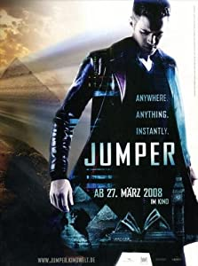 amazoncom jumper poster movie german 11x17 hayden