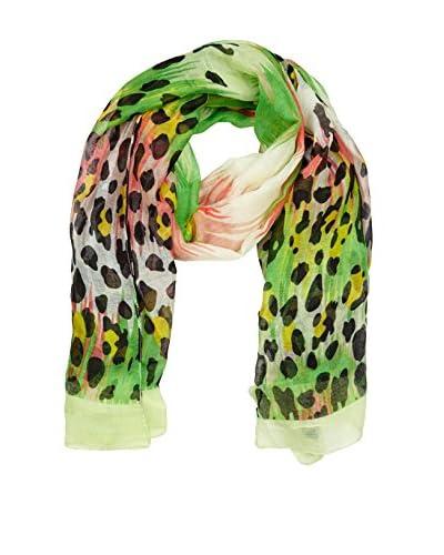 Belmondo Fular Verde / Multicolor