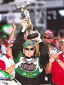 Bobby Labonte Autographed Picture - BRICKYARD 400 TROPHY 11X14 COA - Autographed... by Sports Memorabilia