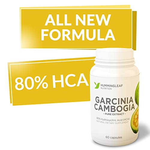 All New Formula! 80% Hca Garcinia Cambogia Extract Pure For Weight Loss As Seen On Tv ★ Lose Weight Or Your Money Back ★ With Potassium And Calcium To Aid Absorption - All Natural Fruit Extract With No Side Effects - Ultra Premium Fat Buster Dietary Suppl