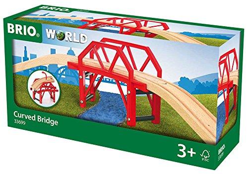 Brio World カーブブリッジ 33699