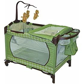 Baby Trend Playard with Bassinet, Nambia