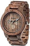 Amazon.co.jp[ウィウッド]WEWOOD 腕時計 ウッド/木製 マルチファンクション KAPPA NUT 9818030 メンズ 【正規輸入品】
