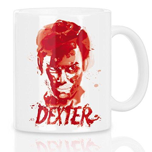 style3 Dexter Blutspur Tazza Caffè serie mord morgan trinity serienkiller